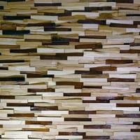 Стеновая панель Колотый Разбежка MIX